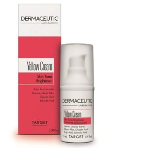 DERMACEUTIC YELLOW CREAM - SKIN TONE BRIGHTENING