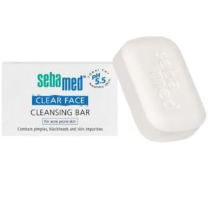SEBAMED CLEAR FACE CLEANSING BAR PH5.5
