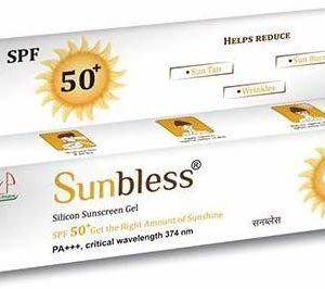 SUNBLESS SILICON SUNSCREEN GEL SPF 50+