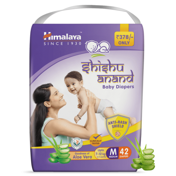 SHISHU ANAND BABY DIAPERS - MEDIUM(42's)