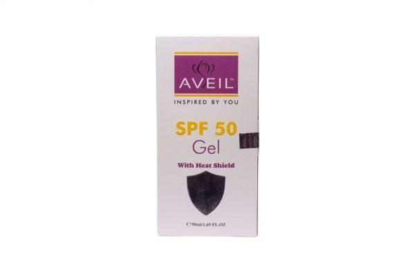 AVEIL SPF 50 GEL WITH HEATSHIELD